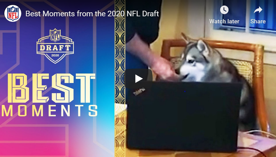 NFL Draft 2020 – Best moments!