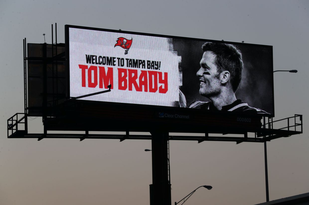 Tom Brady, Tampa Bay Buccaneers most wagered on team to win Super Bowl 55