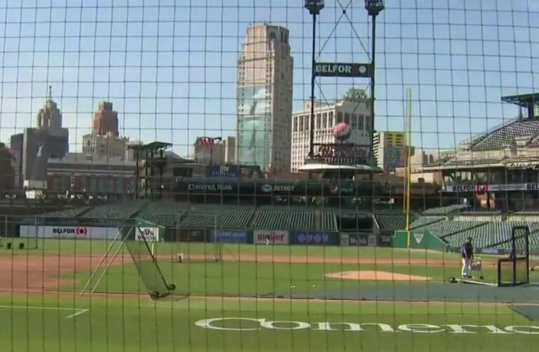 Tigers Prospect Derek Hill Makes Incredible Catch During First Intrasquad Game at Comerica Park – VIDEO