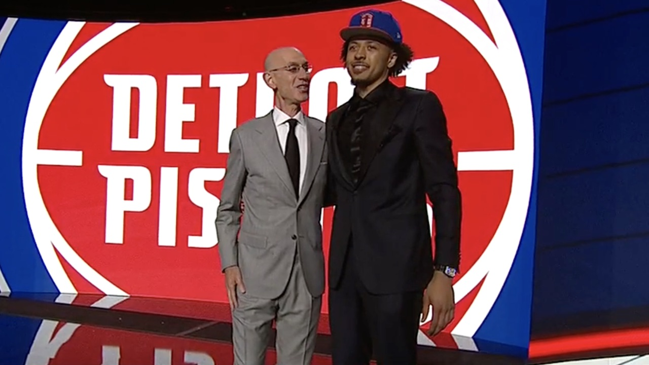 oklahoma state guard cade cunningham goes first to pistons in 2021 draft