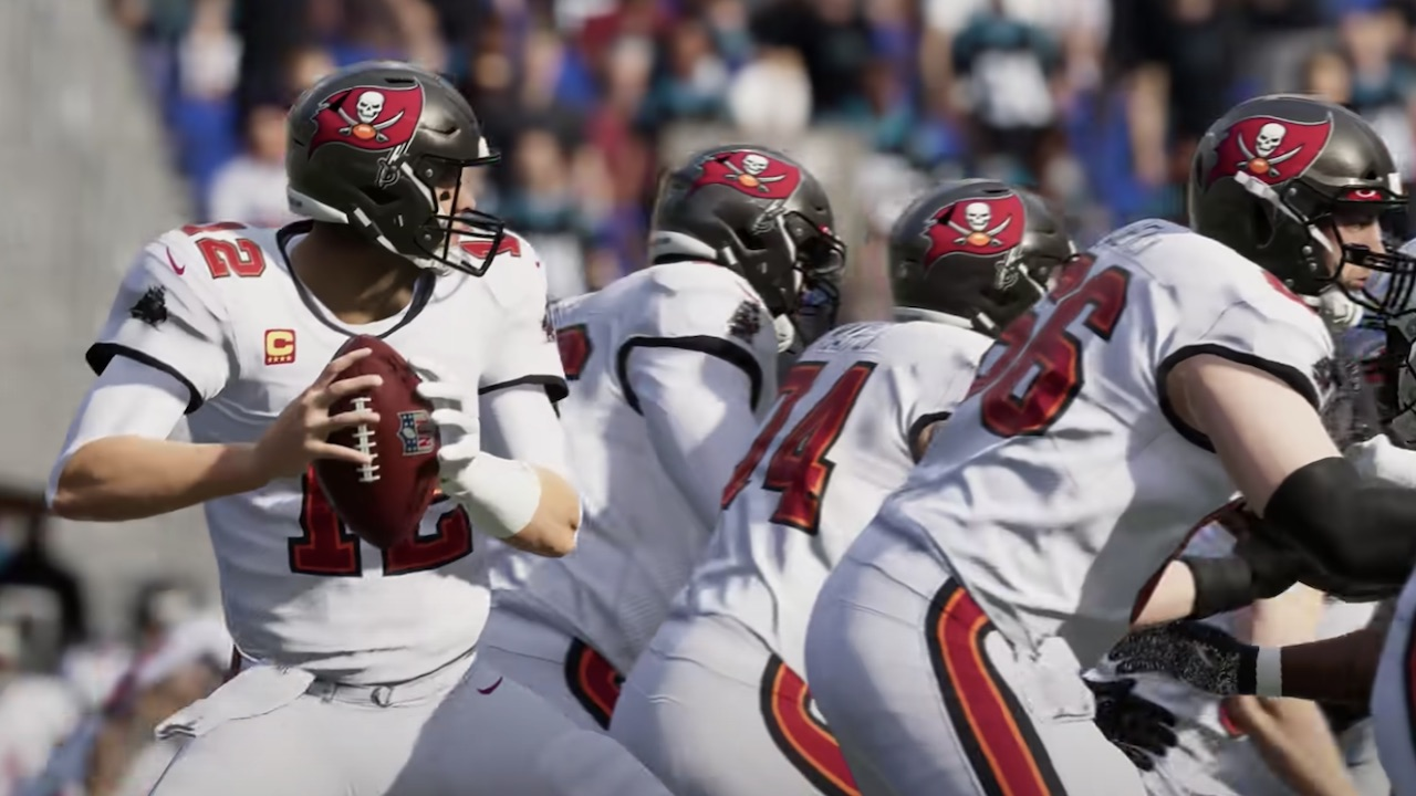 tom brady and bucs in madden 22 ratings